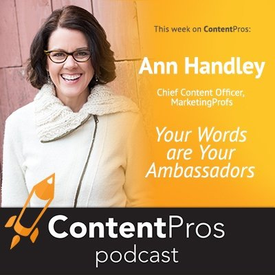Ann Handley - Content Pros Podcast